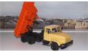 КрАЗ 6510 (1985-94г.) бежевый/оранжевый НАП, масштабная модель, 1:43, 1/43, Наш Автопром