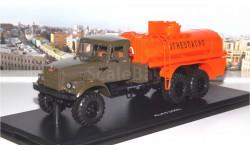 КрАЗ 255Б АЦ-8,5  хаки-оранжевый SSM, масштабная модель, 1:43, 1/43, Start Scale Models (SSM)