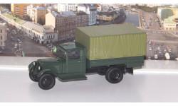 ЗиС-5А бортовой с тентом, зеленый  НАП, масштабная модель, Наш Автопром, scale43