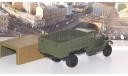 ЗИС-32 (НАТИ) бортовой с тентом, зеленый  НАП, масштабная модель, Наш Автопром, scale43