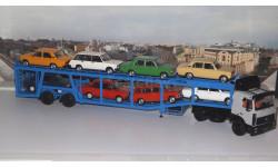 МАЗ-5432 с полуприцепом-автовозом 934410 (А908)    SSM