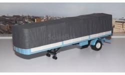 полуприцеп МАЗ-9380-2 с тентом серо-голубой НАП