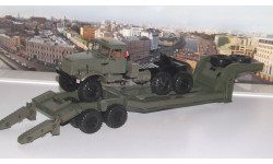 КРАЗ-255В с полуприцепом ЧМЗАП-5247Г    SSM, масштабная модель, 1:43, 1/43, Start Scale Models (SSM)
