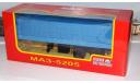 МАЗ 5205 полуприцеп с тентом  НАП, масштабная модель, 1:43, 1/43, Наш Автопром