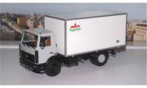 Изотермический фургон КИ 5436 Купава (МАЗ 5337) АИСТ, масштабная модель, scale43, Автоистория (АИСТ)