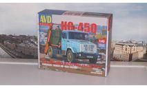 Сборная модель Контейнерный мусоровоз КО-450 (4333)  AVD Models KIT, масштабная модель, scale43, ЗИЛ