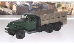 ЗИС 151 бортовой, зелёный/коричневый АИСТ, масштабная модель, 1:43, 1/43, Автоистория (АИСТ)