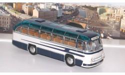 ЛАЗ 695 пригородный (1956), синий / серый   Ультра, масштабная модель, ULTRA Models, scale43