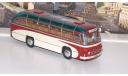 ЛАЗ 695 пригородный Опытный (1956), красно-бежевый  Ультра, масштабная модель, ULTRA Models, scale43