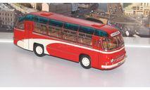 ЛАЗ 695 городской Фестивальный, красный  Ультра, масштабная модель, 1:43, 1/43, ULTRA Models