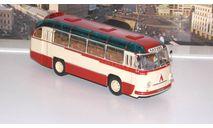 ЛАЗ 695Б городской (1956), бежевый / красный  Ультра, масштабная модель, 1:43, 1/43, ULTRA Models