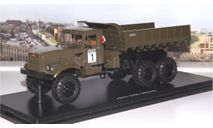 КрАЗ 255Б самосвал 6х6  (хаки) SSM, масштабная модель, 1:43, 1/43, Start Scale Models (SSM)