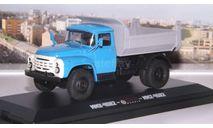 ЗИЛ ММЗ 4502 поздний, голубой / серый  Ультра, масштабная модель, 1:43, 1/43, ULTRA Models