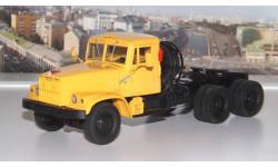КРАЗ 258Б (1969-77г.) желтый НАП, масштабная модель, 1:43, 1/43, Наш Автопром