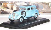 ГАЗ М1-МГ газогенераторный, голубой  НАП, масштабная модель, 1:43, 1/43, Наш Автопром