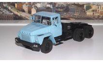 КРАЗ 252 седельный тягач (1979-1990г.) голубой  НАП, масштабная модель, 1:43, 1/43, Наш Автопром