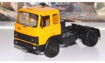 МАЗ 54322  (1985-1988г.) оранжевый  НАП, масштабная модель, 1:43, 1/43, Наш Автопром