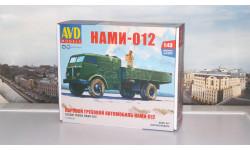 Сборная модель Паровой грузовой автомобиль НАМИ-012   AVD Models KIT, масштабная модель, 1:43, 1/43
