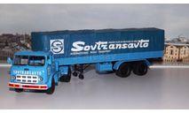 МАЗ 504В с полуприцепом 5205 SovTransavto  НАП, масштабная модель, scale43, Наш Автопром