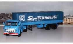 МАЗ 504В с полуприцепом 5205 SovTransavto  НАП