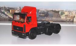 МАЗ 64226  (1989-1993г. ) красный  НАП