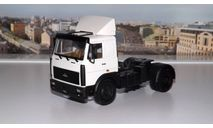 МАЗ 54326 (1988-1993г.) белый НАП, масштабная модель, 1:43, 1/43, Наш Автопром