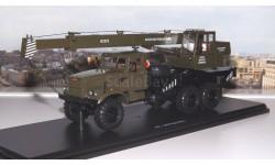 Автокран КС 3575 (на шасси КРАЗ-255Б1) хаки SSM