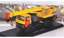 Автокран КС-3577 (5337) 'Ивановец' Мосметро   SSM, масштабная модель, 1:43, 1/43, Start Scale Models (SSM), МАЗ