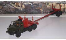 Миасский грузовик 43204-10 лесовоз с прицепом-роспуском  АИСТ, масштабная модель, 1:43, 1/43, Автоистория (АИСТ), УРАЛ