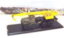 Автокран КС 3575 (на шасси КРАЗ-255Б1) хаки/желтый   SSM, масштабная модель, scale43, Start Scale Models (SSM)