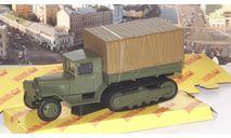 ЗИС-42 бортовой с тентом, зеленый  НАП, масштабная модель, 1:43, 1/43, Наш Автопром