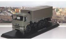 КАМАЗ-43118 бортовой с тентом   SSM, масштабная модель, scale43, Start Scale Models (SSM)