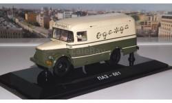 ПАЗ 661 Фургон для перевозки одежды (1956г.) DiP, масштабная модель, 1:43, 1/43, DiP Models