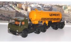 КАМАЗ-54112 с полуприцепом-цементовозом ТЦ-11   АИСТ