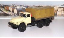 ЗИЛ 131  с тентом, бежевый   АИСТ, масштабная модель, scale43, Автоистория (АИСТ)