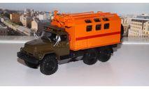 ЗИЛ 131 кунг МТО-АТ (хаки-оражевый)   АИСТ, масштабная модель, scale43, Автоистория (АИСТ)
