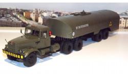 КрАЗ 258 с полуприцепом-цистерной ТЗ-22 хаки   SSM