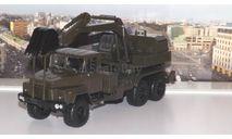 КрАЗ-260 ЭОВ-4422 Экскаватор, хаки     НАП, масштабная модель, scale43
