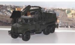 КРАЗ 6322 ЭОВ-4422 Экскаватор, хаки     НАП, масштабная модель, scale43