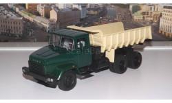 КрАЗ 6510 (1985-94г.)зелёный  бежевый НАП, масштабная модель, 1:43, 1/43, Наш Автопром