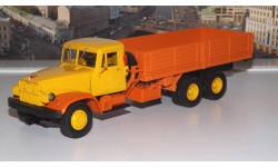 КРАЗ 219Б  экспортный (1966-1969г.) желто-оранжевый НАП, масштабная модель, 1:43, 1/43, Наш Автопром