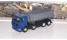 МАЗ-6516 самосвал, U-образный кузов (синий/серый)  АИСТ, масштабная модель, Автоистория (АИСТ), scale43