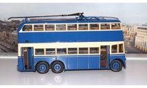 троллейбус  ЯТБ 3   2-х дверный (1938-1939г.) Ультра, масштабная модель, scale43, ULTRA Models