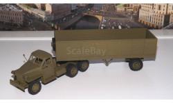 Студебекер US6 с полуприцепом  САИС, масштабная модель, 1:43, 1/43, Studebaker