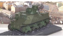 Танки. Легенды Отечественной бронетехники №14, M3 LEE (1941), журнальная серия масштабных моделей, scale43
