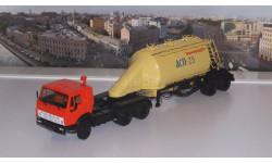 КАМАЗ-54112 с полуприцепом-муковозом АСП-25   ПАО КАМАЗ, масштабная модель, 1:43, 1/43, Автоистория (АИСТ)