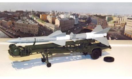 ТЗМ  ПР11 (с ракетой 20ДСУ)  хаки / серая  DiP, масштабная модель, 1:43, 1/43, DiP Models