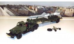 ЗИЛ 157КВ  + ТЗМ-ПР11А (Ракета 20ДСУ) хаки / серая  DiP