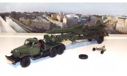 ЗИЛ 157КВ  + ТЗМ-ПР11А (Ракета 20ДСУ) хаки  DiP