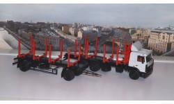 МАЗ-6303 сортиментовоз +Прицеп МАЗ-83781 сортиментовоз АИСТ
